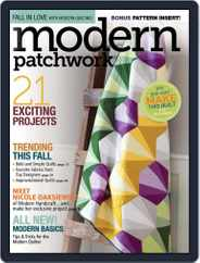 Modern Patchwork Magazine (Digital) Subscription October 1st, 2016 Issue