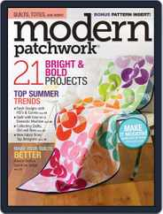 Modern Patchwork Magazine (Digital) Subscription June 1st, 2016 Issue