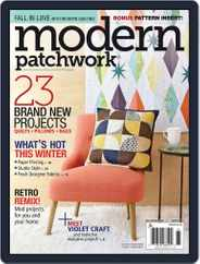 Modern Patchwork Magazine (Digital) Subscription January 1st, 2016 Issue
