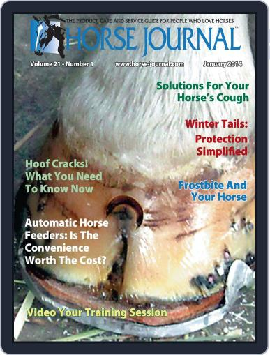 Horse Journal (Digital) December 13th, 2013 Issue Cover
