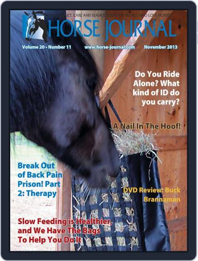 Horse Journal (Digital) October 18th, 2013 Issue Cover