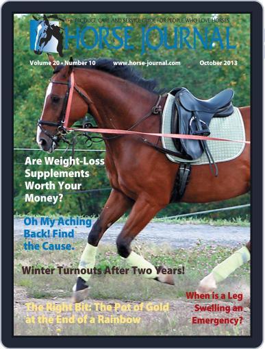 Horse Journal (Digital) September 17th, 2013 Issue Cover