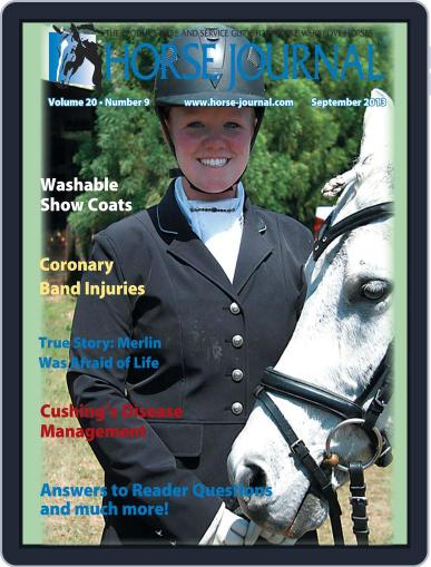 Horse Journal (Digital) August 16th, 2013 Issue Cover