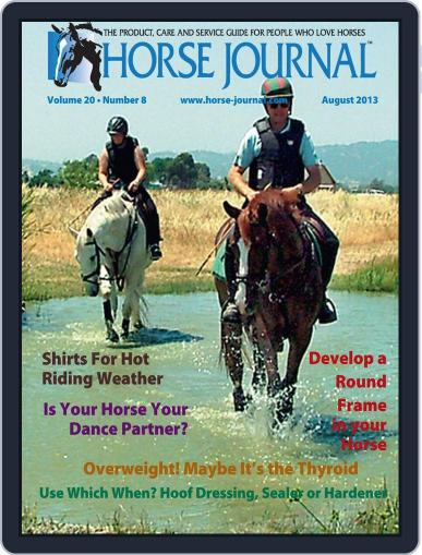 Horse Journal (Digital) July 15th, 2013 Issue Cover