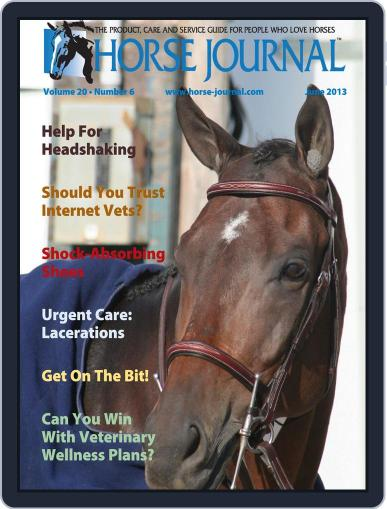 Horse Journal (Digital) May 20th, 2013 Issue Cover