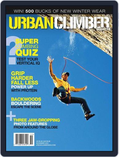 Urban Climber (Digital) November 12th, 2010 Issue Cover
