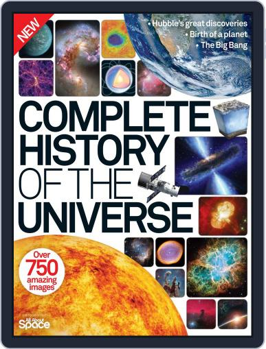 Complete History of the Universe July 1st, 2015 Digital Back Issue Cover