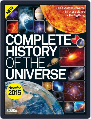 Complete History of the Universe January 28th, 2015 Digital Back Issue Cover