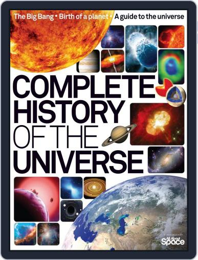 Complete History of the Universe July 3rd, 2014 Digital Back Issue Cover