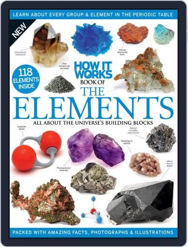 How It Works Book of the Elements Magazine (Digital) March 1st, 2016 Issue Cover