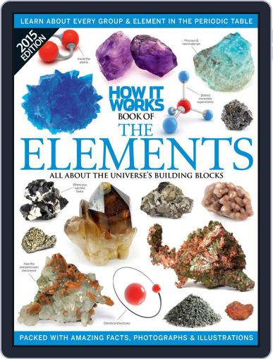 How It Works Book of the Elements Magazine (Digital) March 11th, 2015 Issue Cover
