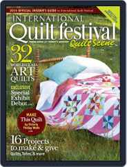 International Quilt Festival: Quilt Scene Magazine (Digital) Subscription October 21st, 2015 Issue