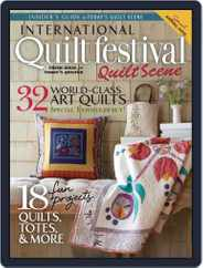 International Quilt Festival: Quilt Scene Magazine (Digital) Subscription October 22nd, 2014 Issue
