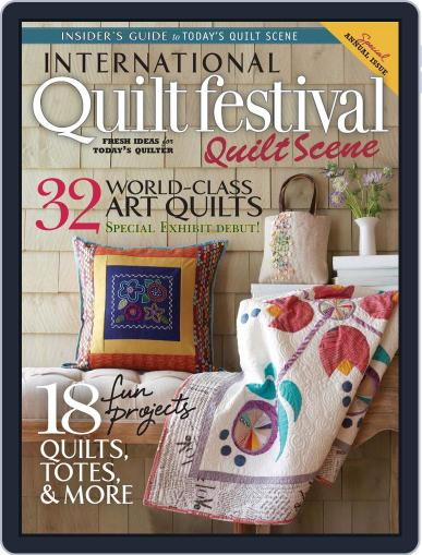 International Quilt Festival: Quilt Scene October 22nd, 2014 Digital Back Issue Cover
