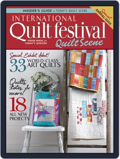 International Quilt Festival: Quilt Scene October 23rd, 2013 Digital Back Issue Cover