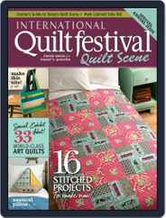 International Quilt Festival: Quilt Scene Magazine (Digital) Subscription October 24th, 2012 Issue