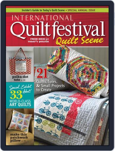 International Quilt Festival: Quilt Scene October 31st, 2011 Digital Back Issue Cover