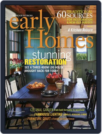 Early Homes Magazine (Digital) April 4th, 2017 Issue Cover