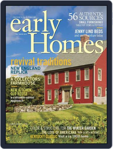 Early Homes Magazine (Digital) November 1st, 2016 Issue Cover