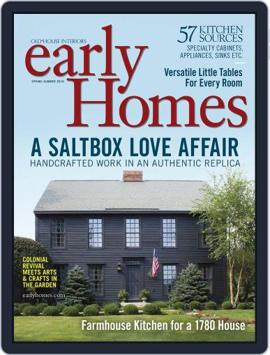 Early Homes Magazine (Digital) April 26th, 2016 Issue Cover