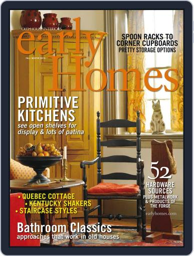 Early Homes Magazine (Digital) December 1st, 2015 Issue Cover