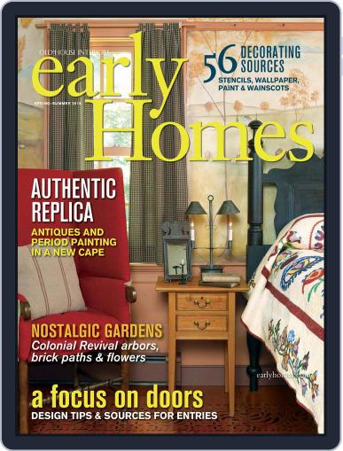 Early Homes Magazine (Digital) March 27th, 2015 Issue Cover