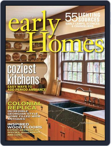 Early Homes Magazine (Digital) November 25th, 2014 Issue Cover