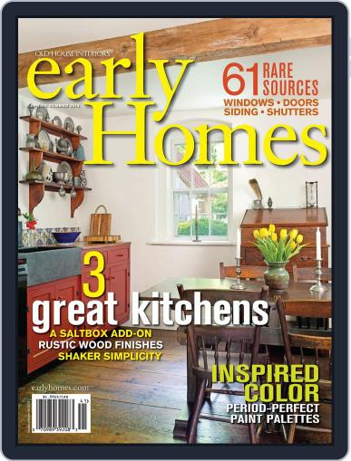Early Homes Magazine (Digital) April 2nd, 2014 Issue Cover
