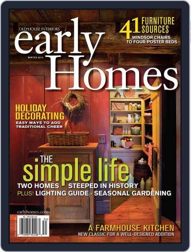 Early Homes Magazine (Digital) November 12th, 2013 Issue Cover
