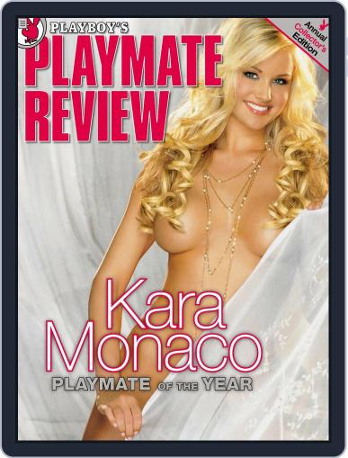 PLAYBOY'S Playmate Review July 17th, 2006 Digital Back Issue Cover