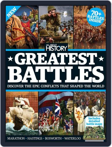 All About History Book Of Greatest Battles Magazine (Digital) May 1st, 2016 Issue Cover
