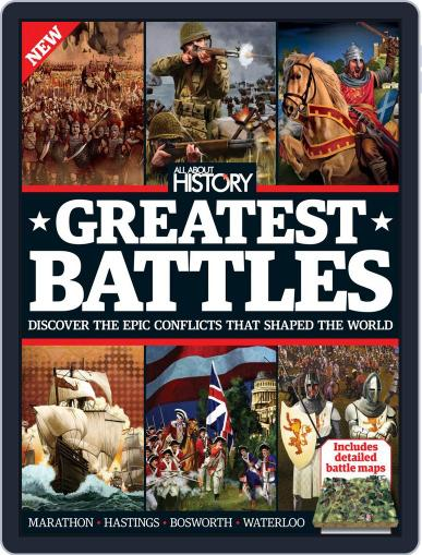 All About History Book Of Greatest Battles Magazine (Digital) May 21st, 2015 Issue Cover