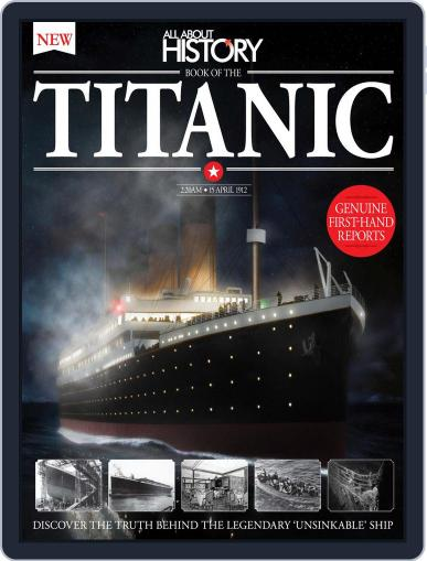 All About History Book of The Titanic October 1st, 2016 Digital Back Issue Cover