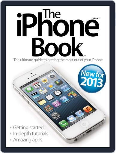 The iPhone Book March 21st, 2013 Digital Back Issue Cover