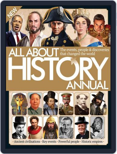All About History Annual October 1st, 2016 Digital Back Issue Cover