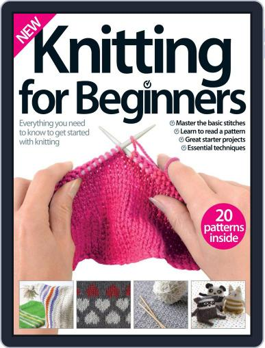 Knitting for Beginners Magazine (Digital) July 29th, 2015 Issue Cover