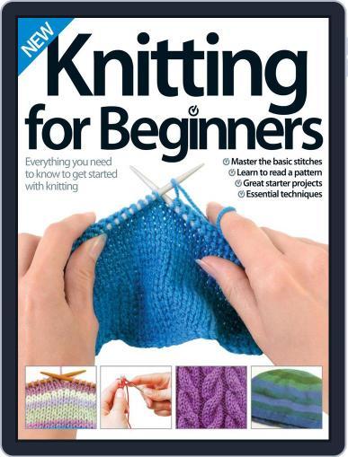 Knitting for Beginners Magazine (Digital) November 1st, 2014 Issue Cover