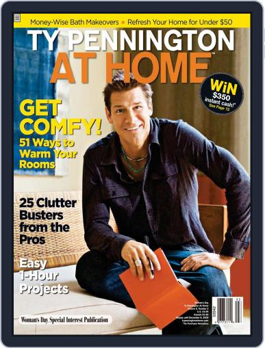 Ty Pennington At Home (Digital) October 1st, 2009 Issue Cover