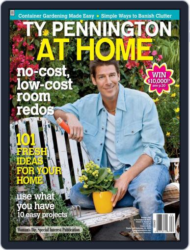 Ty Pennington At Home (Digital) June 1st, 2009 Issue Cover