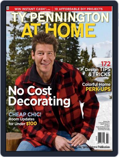 Ty Pennington At Home (Digital) December 1st, 2008 Issue Cover