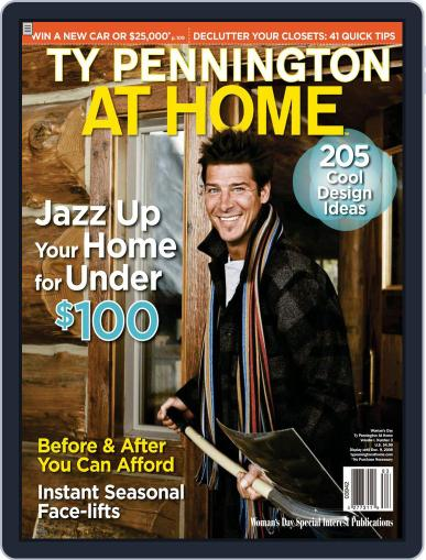 Ty Pennington At Home (Digital) September 5th, 2008 Issue Cover
