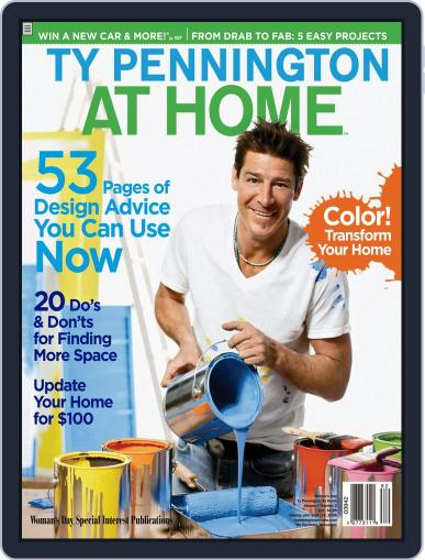 Ty Pennington At Home (Digital) June 10th, 2008 Issue Cover