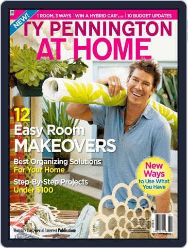 Ty Pennington At Home (Digital) February 27th, 2008 Issue Cover