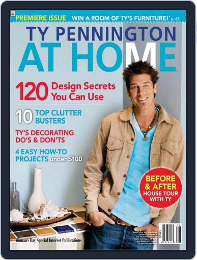 Ty Pennington At Home (Digital) October 18th, 2007 Issue Cover