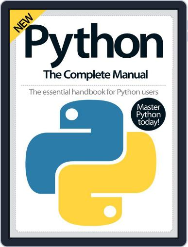 Python The Complete Manual April 1st, 2016 Digital Back Issue Cover