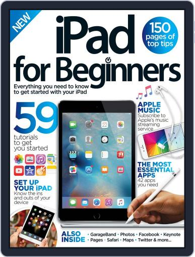 iPad for Beginners United Kingdom January 1st, 2016 Digital Back Issue Cover