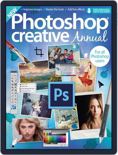 Photoshop Creative Annual Magazine (Digital) November 18th, 2015 Issue Cover