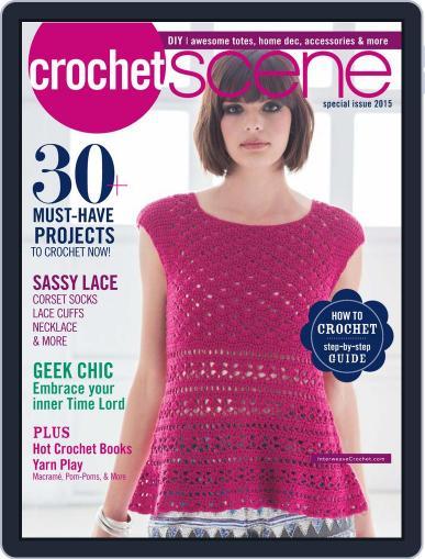 Crochetscene August 1st, 2015 Digital Back Issue Cover