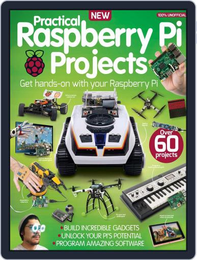 Practical Raspberry Pi Projects August 12th, 2015 Digital Back Issue Cover