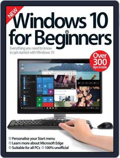 Windows 10 For Beginners Magazine (Digital) October 1st, 2016 Issue Cover